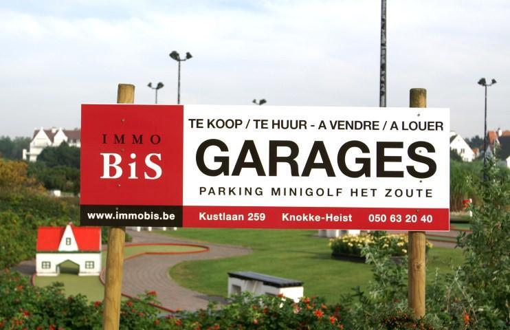 Gesloten garagebox, Kustlaan , 8300 Knokke-Heist