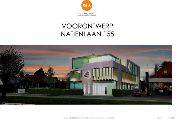 Gebouw voor gemengd gebruik, Natiënlaan, 8300 Knokke-Heist